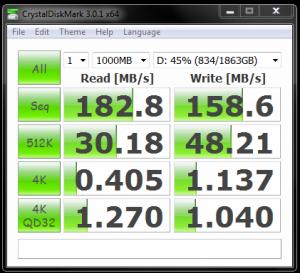 Seagate Barracuda Raid 0 Crystal Disk Mark