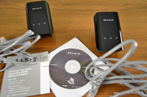 belkin powerline av500 1