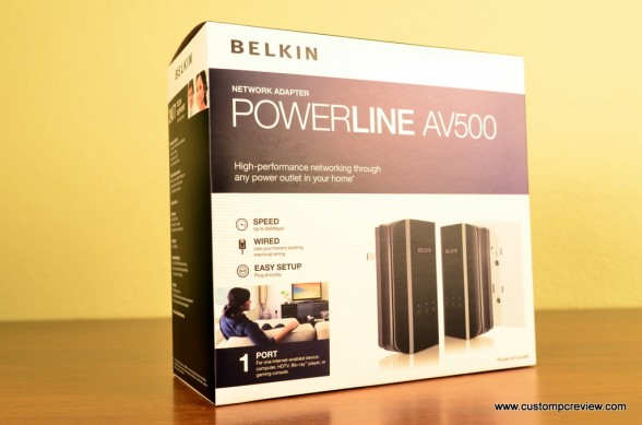 belkin powerline av500 5