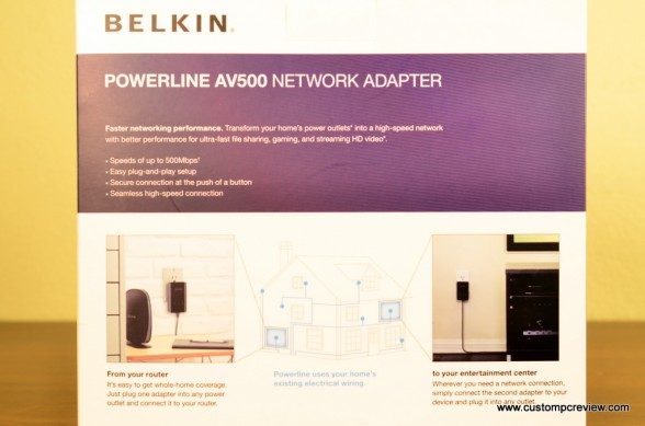 belkin powerline av500 6