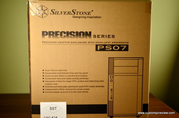 silverstone ps07 review
