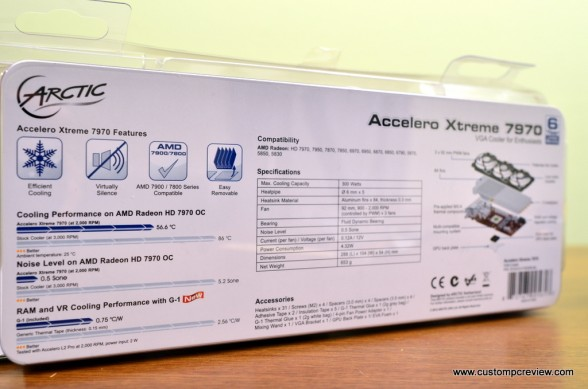 arctic cooling accelero xtreme 7970 unboxing 4