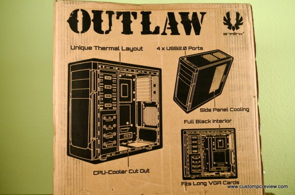 bitfenix outlaw unboxing