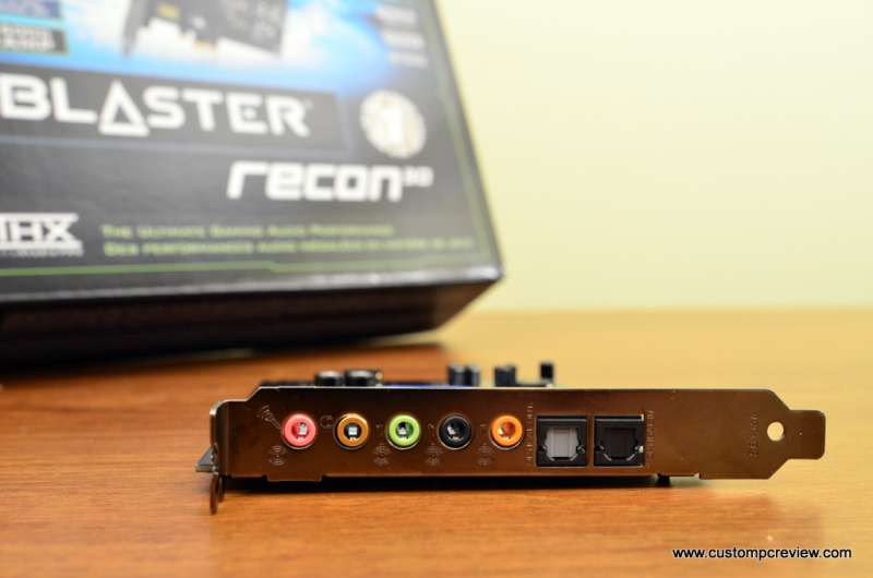 Creative Sound Blaster Recon 3D PCIe Review | Custom PC Review