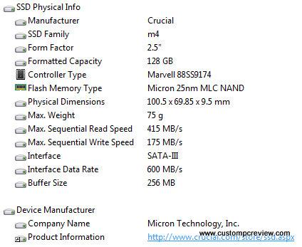 crucial m4 128gb aida 64