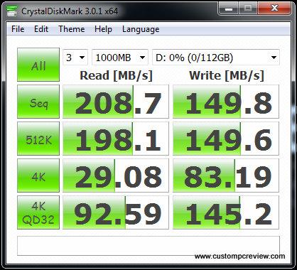 kingston v+200 ssd crystal disk mark random