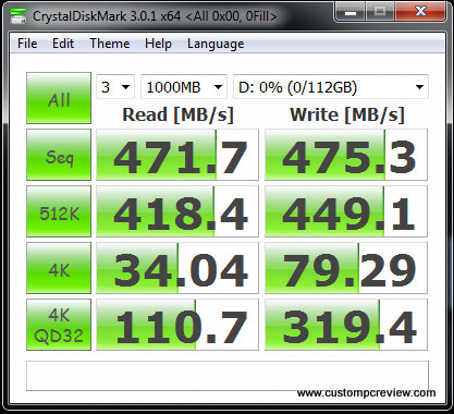 ocz agility 3 ssd crystal disk mark 0fill