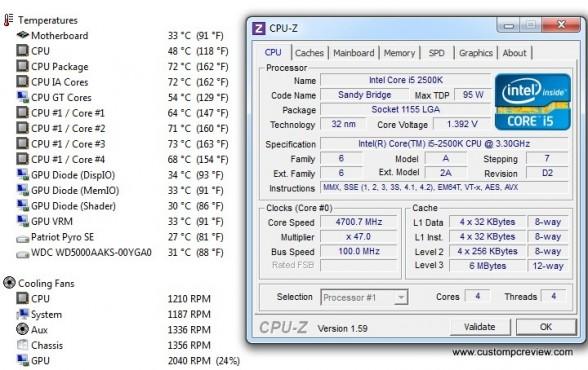 silverstone tj04e benchmarks