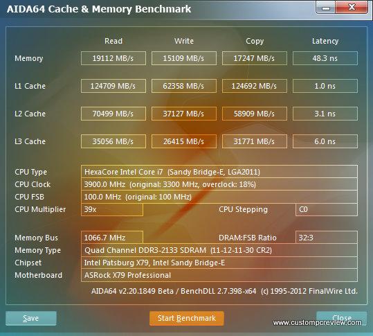 asrock x79 aida64 memory