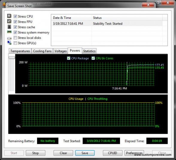 asrock x79 aida64 stability oc power
