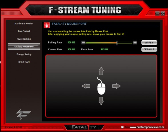 fstream fatal1ty mouse port