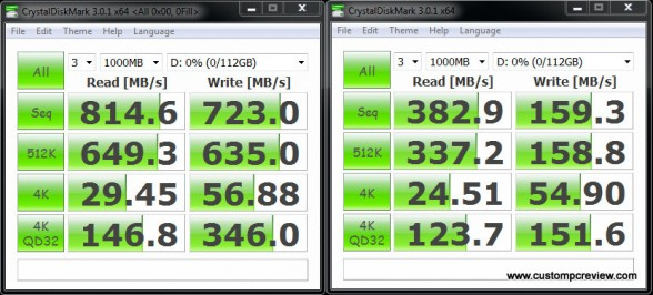 ocz revodrive 120gb crystal disk mark