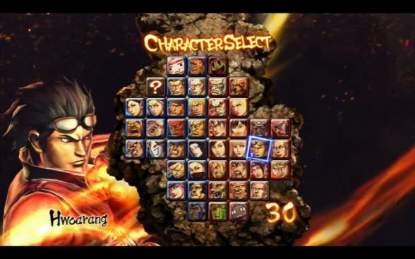 SF X Tekken Character Roster