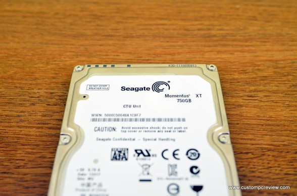 Seagate Momentus XT 750GB 7200RPM Solid State Hybrid Drive (SSHD)