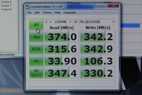 OCZ Vertex 4 Crystal Disk Mark Benchmarks
