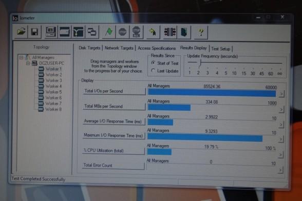OCZ Vertex 4 Iometer Benchmarks