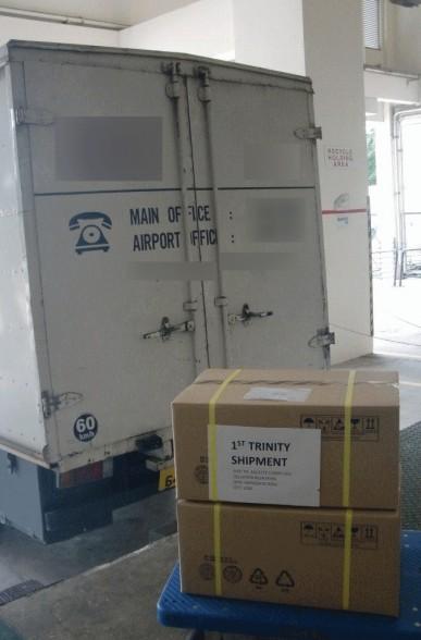 first trinity shipment amd