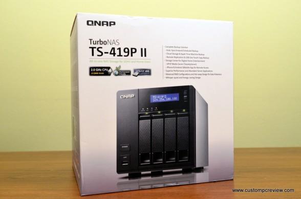 qnap ts 419p ii review