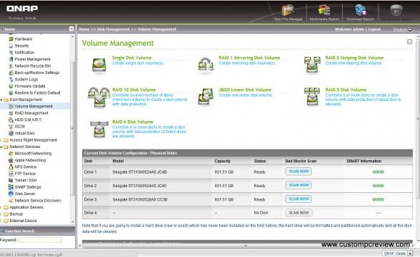qnap ts 419p ii software 001