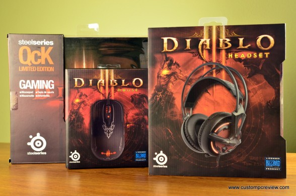 steelseries diablo 3 headset mouse mousepad review