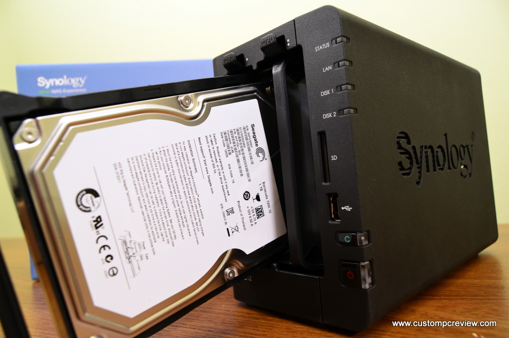 Synology DiskStation DS212 NAS Review | Custom PC Review