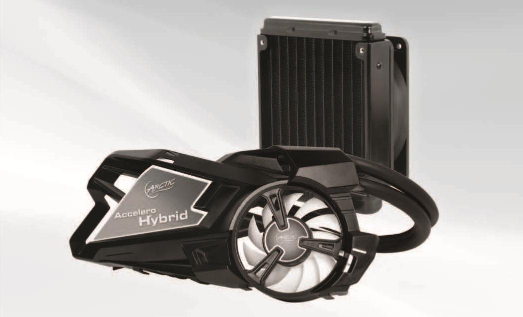 ARCTIC Accelero Hybrid GPU Water Cooler Review | Custom PC