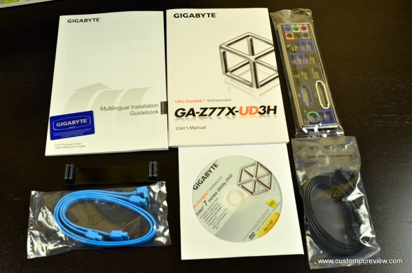 gigabyte z77x ud3h review