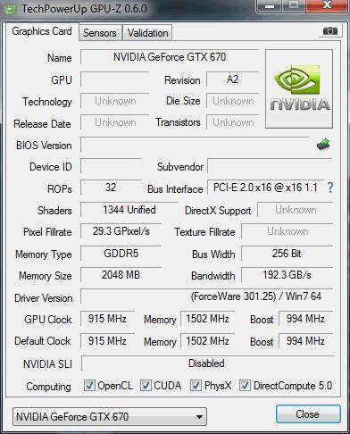 nvidia geforce gtx 670 gpu z
