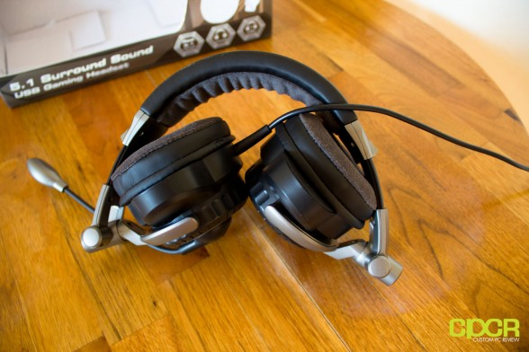custom pc review ARCTIC P531 5.1 Gaming Headset 3