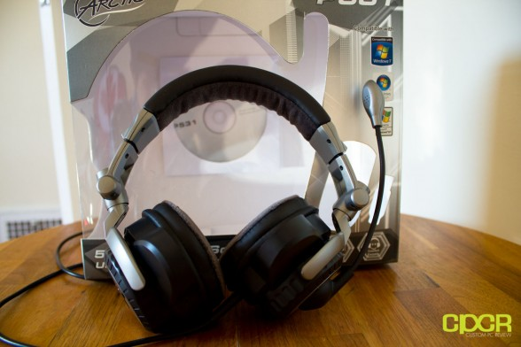 custom pc review ARCTIC P531 5.1 Gaming Headset Box 1