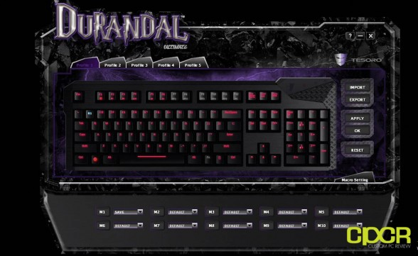 custom pc review max keyboard durandal mechanical gaming keyboard review 22
