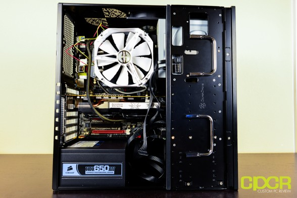 custom pc review silverstone gd08 review 15