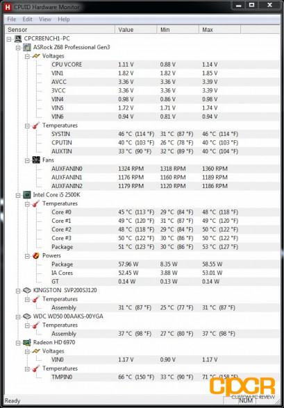 custom pc review silverstone grandia gd08 temps