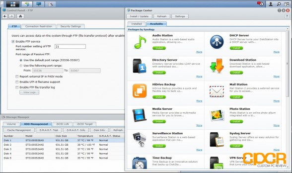 synology diskstation ds1512 plus dsm 4