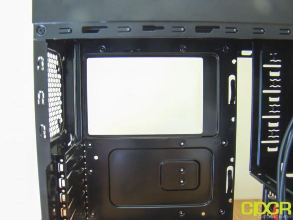 case backplate hole