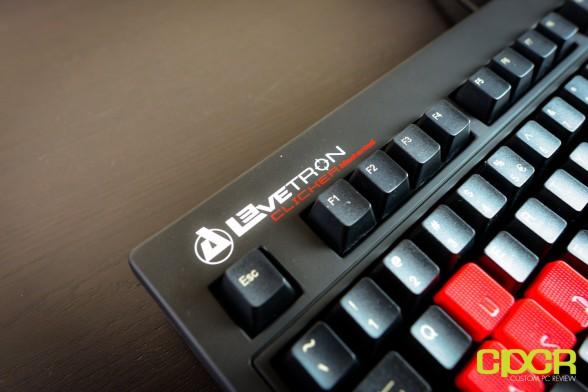 custom pc review azio levetron clicker review 12