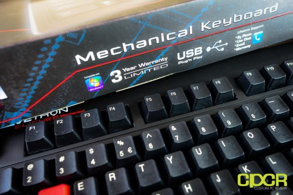 custom pc review azio levetron clicker review 13