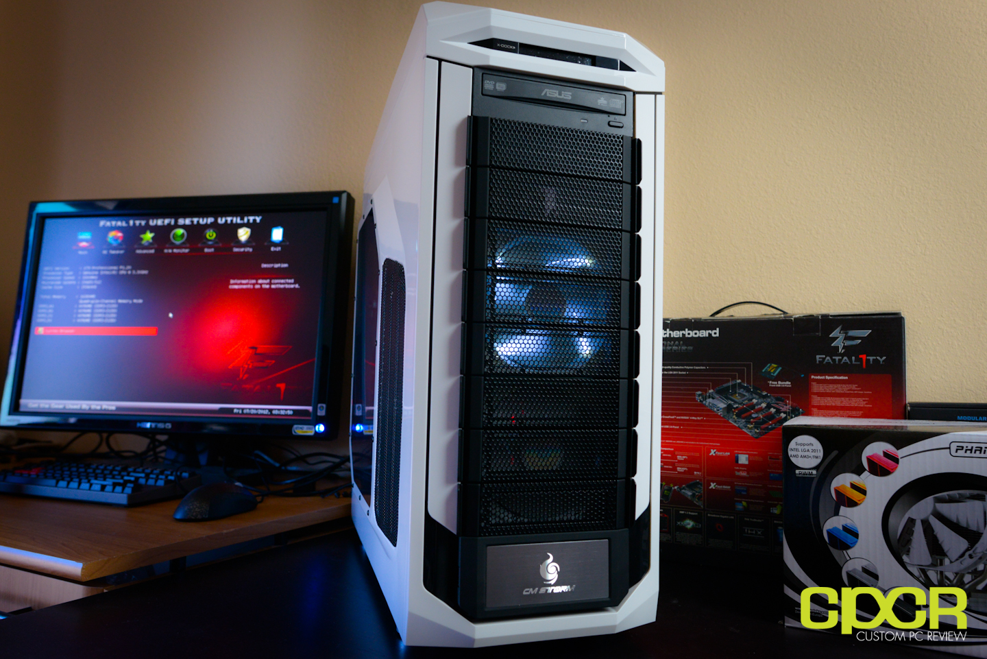 Cm Storm Stryker Review Custom Pc Review