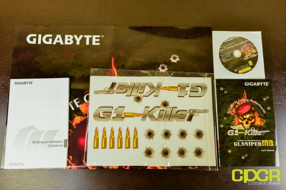 custom pc review gigabyte g1 sniper m3 review 1