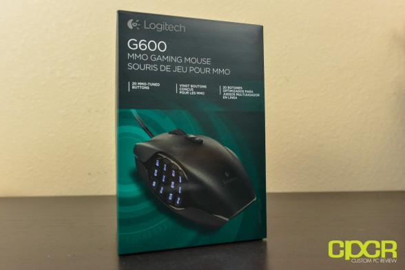 custom pc review logitech g600 mmo gaming mouse review 2