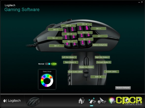 custom pc review logitech g600 review software 6
