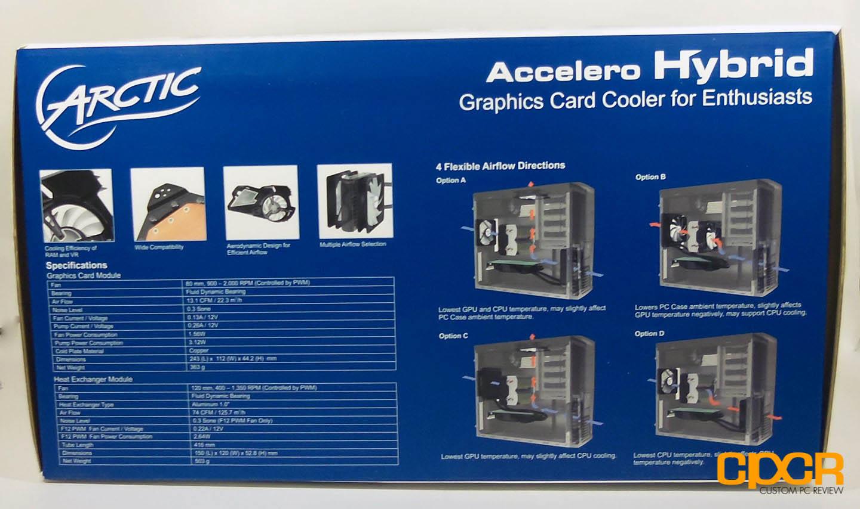 ARCTIC Accelero Hybrid GPU Water Cooler Review | Custom PC Review