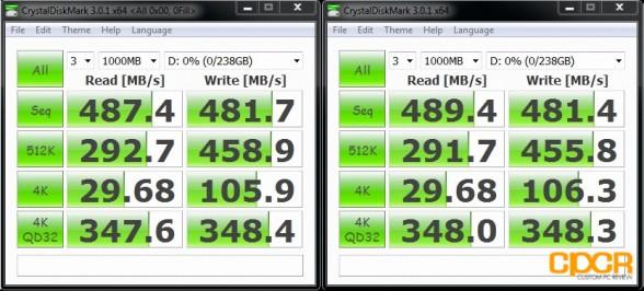 ocz vertex 4 256gb crystal disk mark custom pc review
