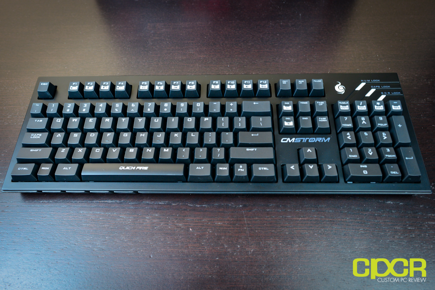 88f8e9ee503 CM Storm QuickFire Pro Mechanical Gaming Keyboard Review   Custom PC ...