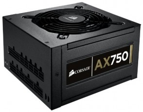 corsair ax 750 professional power supply