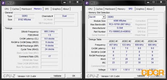 cpu z 1 cyberpowerpc xplorer x6 9120 custom pc review