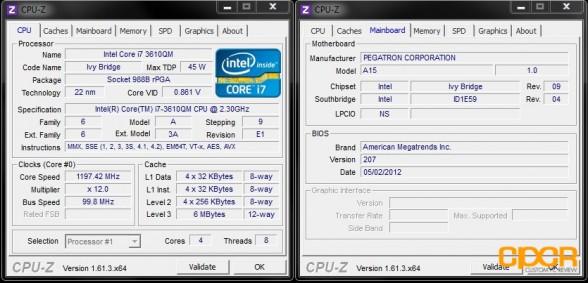 cpu z cyberpowerpc xplorer x6 9120 custom pc review