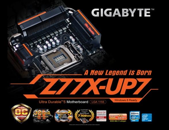 gigabyte z77x up7 1