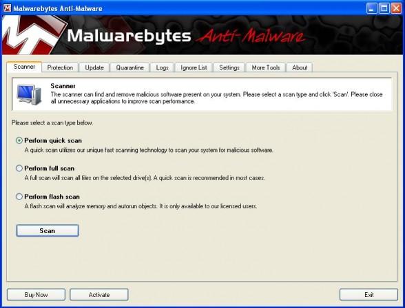malware bytes screen 1