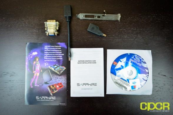 sapphire hd 7750 1gb low profile custom pc review 2